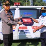 Polres Madiun Terima Bantuan Mobil Jenazah dari PT KAI Daop 7