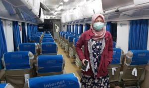 Cegah Virus Corona, Penumpang Kereta Api Wajib Pakai Masker