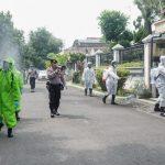 Dua Wilayah Zona Merah di Jombang, Disemprot Cairan Disinfektan