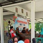 Penyaluran BLT DD di Desa Jangkong Kecamatan Batang batang Sumenep