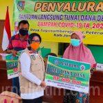 Bupati Jombang Dan Gubernur Jatim Teleconference Penyaluran BLT-DD Terdampak COVID-19