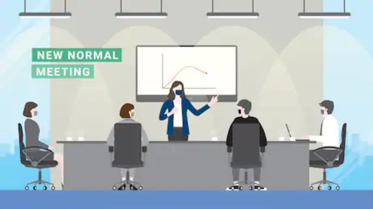 Fase normal baru di agenda meeting