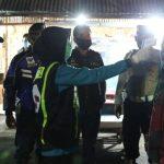 Gencar Patroli Malam di Jombang, Polisi Ingatkan Physical Distancing