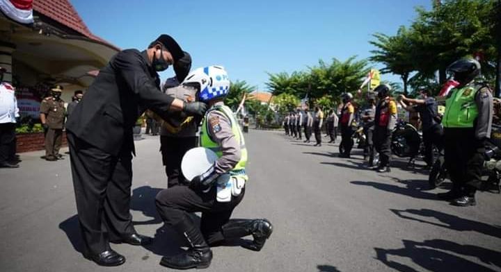 Walikota Madiun Apresiasi Upaya Kepolisian Dalam Penanganan Corona