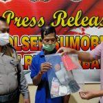 Polisi Amankan Lelaki 60 Tahun Saat Judi Dadu di Jombang