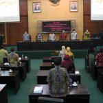 Delapan Fraksi DPRD Jombang Setujui Raperda Perubahan APBD 2021
