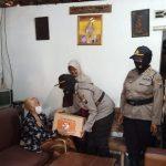 Hari Jadi Polwan ke 72, Polres Nganjuk Bagi Sembako Dan Benih Lele