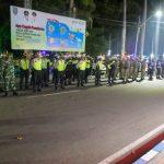 Kasat Resnarkoba Pimpin Patroli Protokol Kesehatan Malam Hari di Jombang