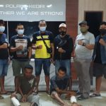 Terseok, Kawanan Pencuri Kabel PLN Kediri Ditembak Polisi