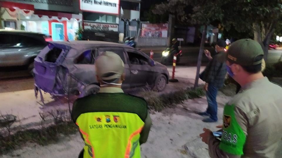 Identitas Sopir Mobil Terbakar Depan SPBU Semampir Warga Nganjuk