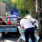 Truk Tabrak Bentor di Jombang, Pengendara Tewas Tergilas Roda