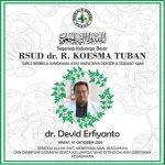 Dokter IGD RSUD dr Koesma Tuban Meninggal Terpapar COVID-19