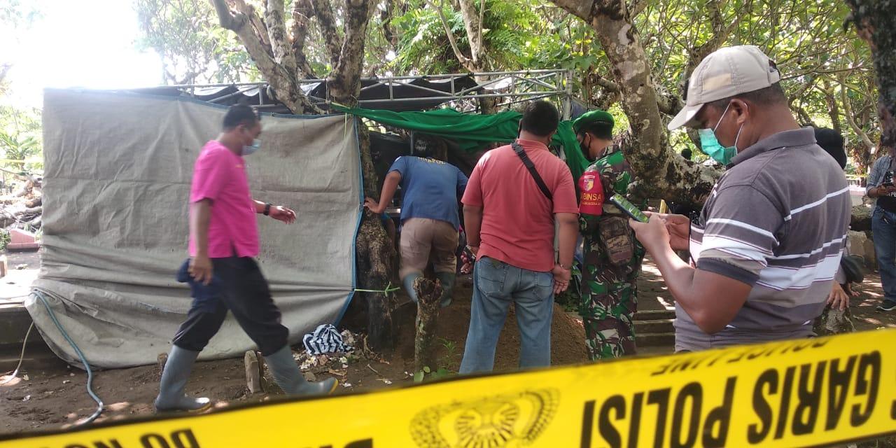 Polisi Bongkar Makam Bocah MI Diduga Pembunuhan di Kedung Cinet
