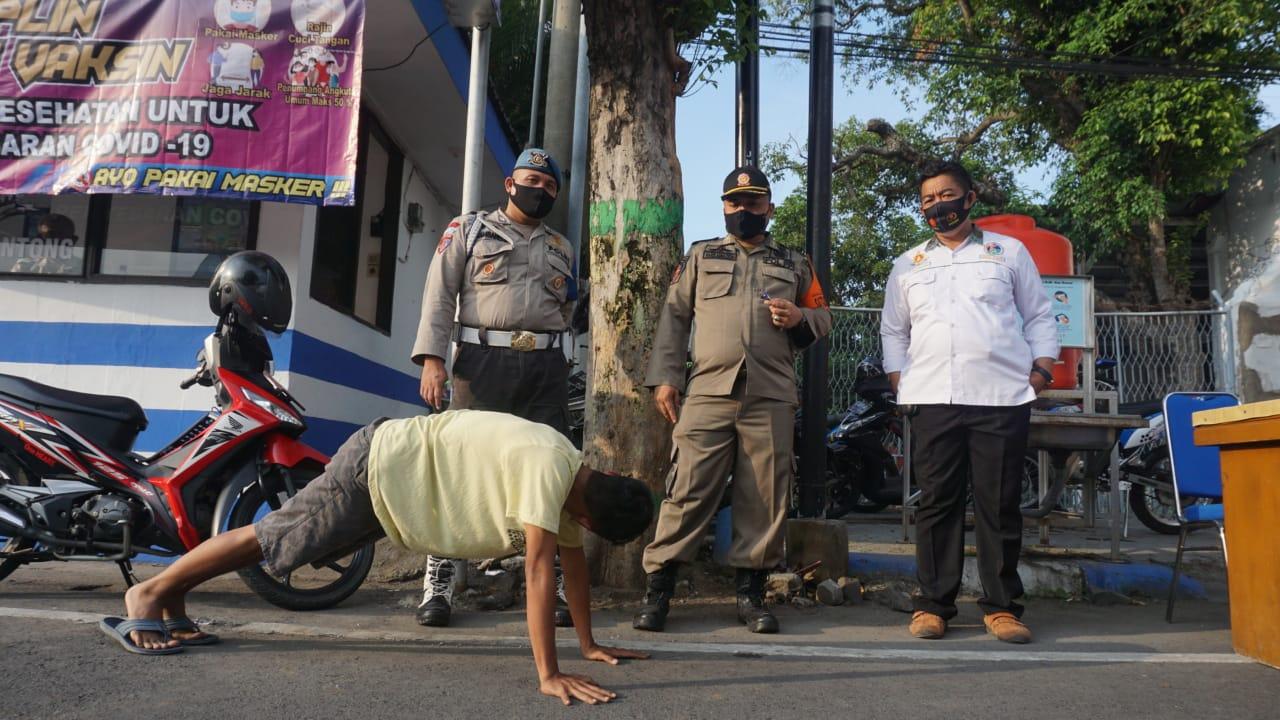 33 Warga Jombang Terjaring Razia Masker, 4 Orang Didenda Rp100 Ribu