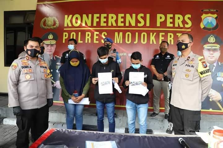 Penyebar Video Hoaks Perkelahian Antar Pelajar di Mojokerto Ditangkap