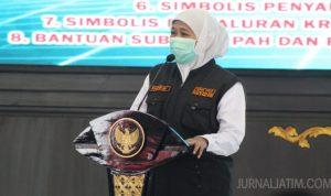 Khofifah Kirim Surat Aspirasi Buruh Tolak UU Omnibus Law ke Presiden