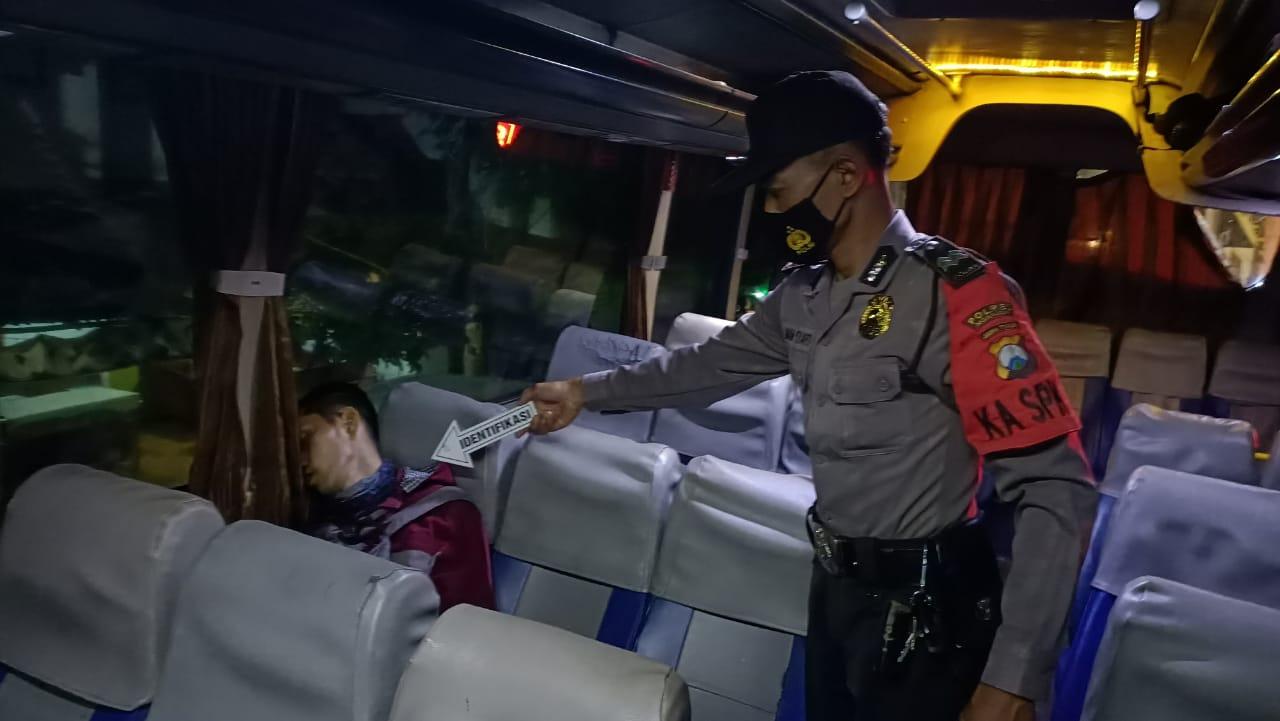 Penumpang Bus Asal Magetan Tewas Diduga Akibat Serangan Jantung
