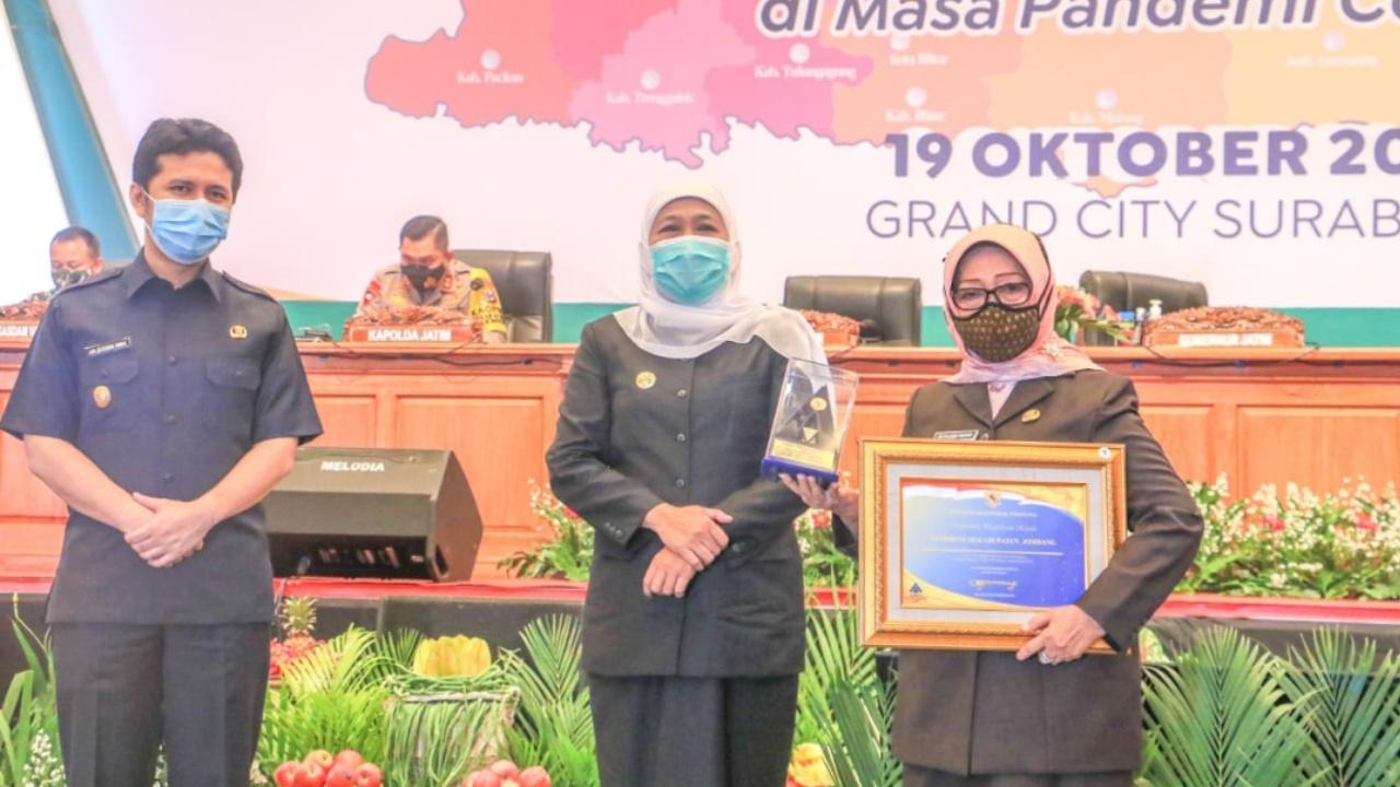 Raih WTP Berturut, Pemkab Jombang Dapat Penghargaan Kemenkeu RI