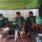 Ansor Jombang Rapat Kerja III Terapkan Protokol Kesehatan COVID-19