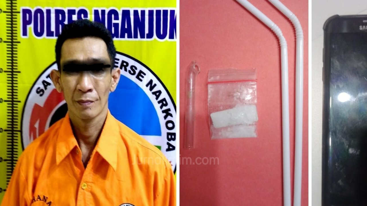 Diintai 2 Hari, Pengedar Sabu Ditangkap di Kos Eks Lokalisasi Kandangan