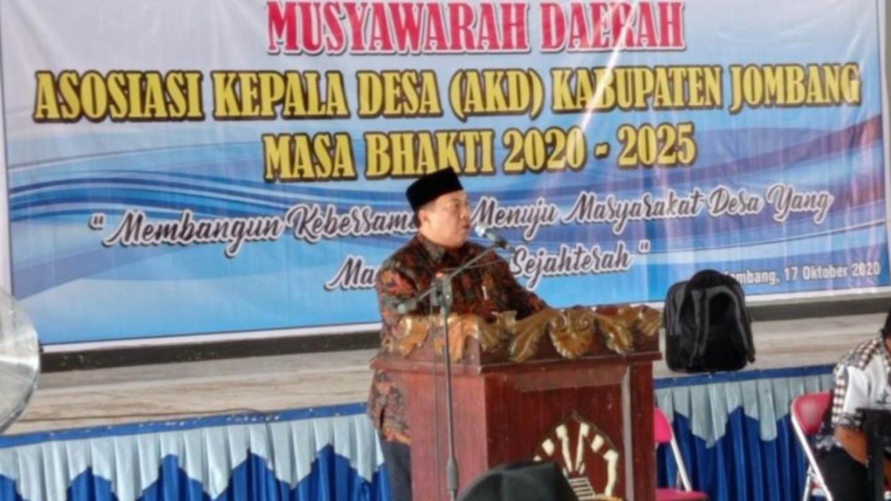 Kepengurusan Asosiasi Kepala Desa Jombang Diambil Tiap Dapil