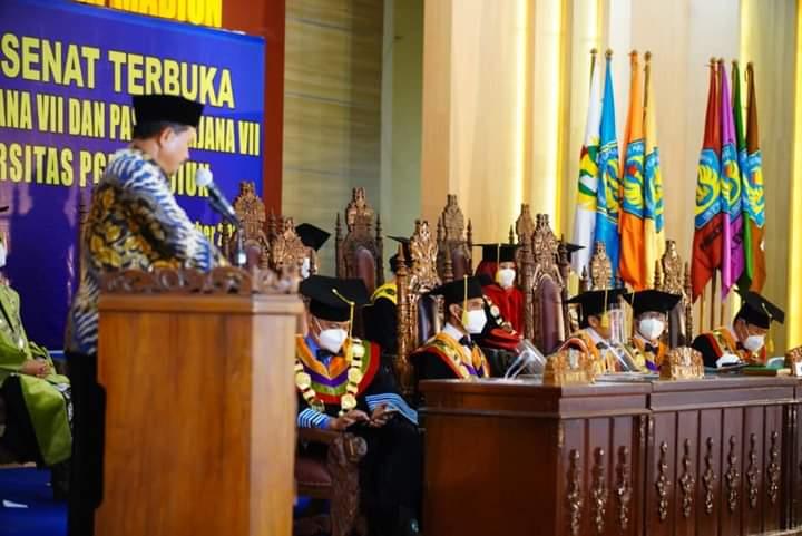 Wali Kota Madiun Dorong Wisudawan Unipma Tangkap Potensi Ekonomi