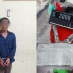 Ditangkap di Jalan, Pencuri Motor di Lirboyo Kediri Ganti Pelat Nopol