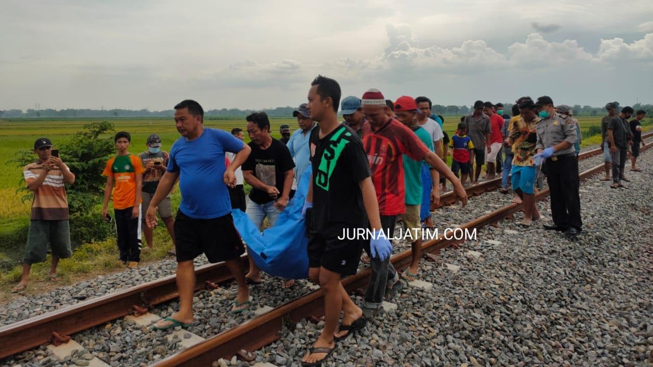 Bunyikan Musik, Truk Tertabrak Kereta Api di Jombang, 2 Orang Tewas