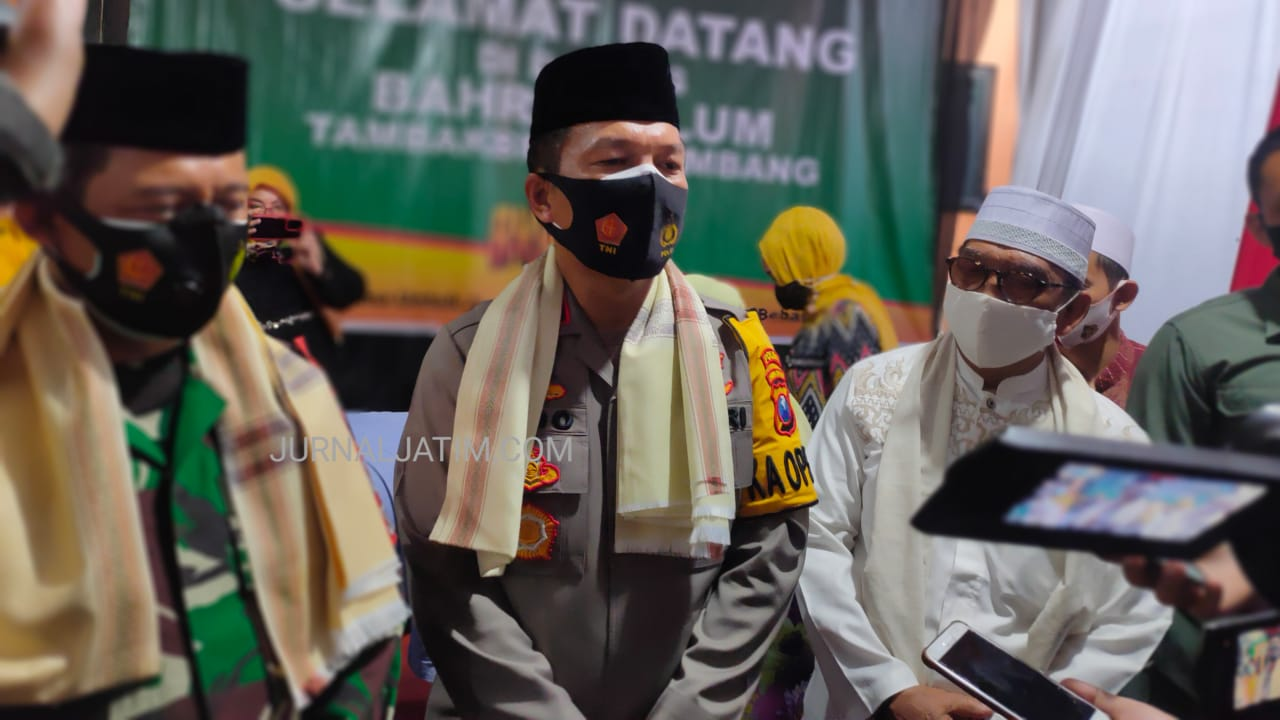 Kapolda Bersama Pangdam ke Jombang Silaturahmi Minta Restu Pimpin Jatim