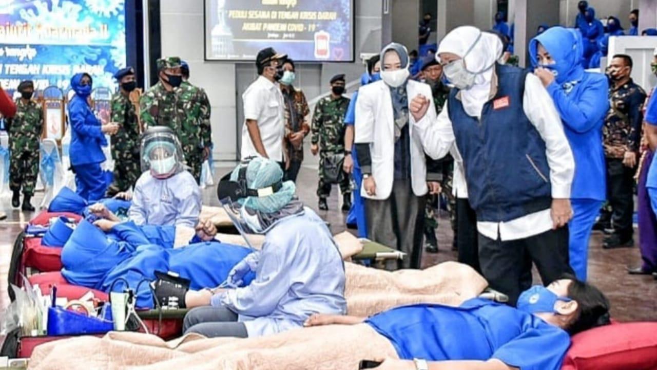 Gubernur Khofifah Ajak Satukan Tekad Lepaskan Diri Dari Pandemi
