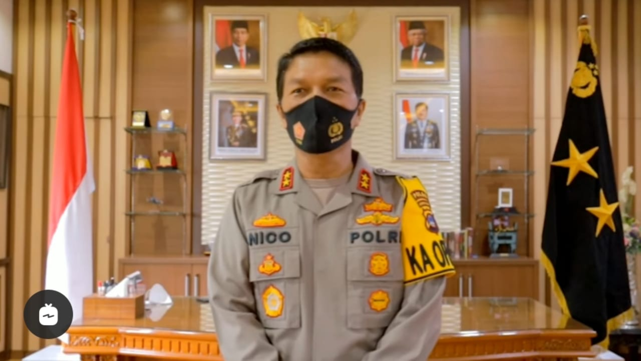 Ini Profil Kapolda Jatim Irjen Pol Nico Afinta, Pengganti Irjen M Fadil Imran