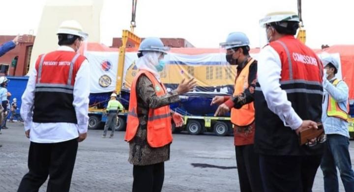 Pandemi Tetap Produktiv, PT INKA Ekpor Perdana Lokomotif ke Filipina
