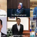 Profile Singkat Enam Menteri Baru Jokowi di Kabinet Indonesia Maju Jilid II