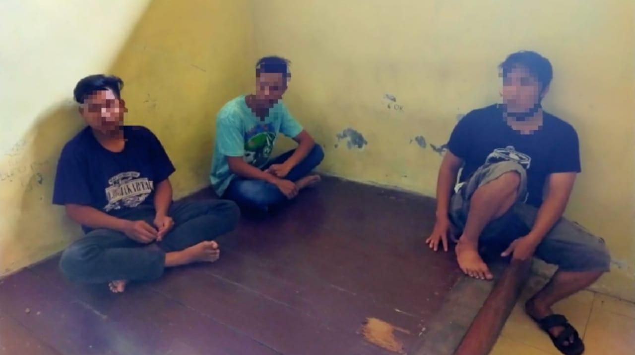Kompak Merampok di Jombang, Kakak, Adik dan Teman Ditangkap Polisi