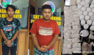 Polisi Gerebek Rumah Bandar Narkoba di Kota Kediri, 2 Orang Ditangkap