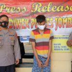 Awal Tahun Baru 2021, Pemuda Jombang Ditangkap Karena Jual Pil Koplo