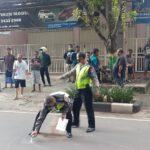Brakk! Pengendara Mabuk Miras Tewas Tabrakan di Jalan Pahlawan Tuban