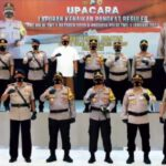 Kapolda Jatim Pimpin Sertijab Pejabat Utama dan Kapolres Jajaran