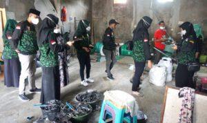 Srikandi GPK Jombang Sosialisasi Protokol Kesehatan di Sentra Industri Kecil