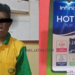 Kakek 61 Tahun Congkel Jendela Rumah Lalu Curi Dua Ponsel di Nganjuk