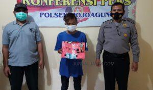 Apes, Kurir Sabu Usia 17 Tahun Terjaring Operasi Yustisi di Jombang