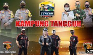 Awal Tahun 2021, Polisi Jombang Luncurkan Lagu Kampung Tangguh