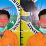 Polisi Tangkap Dua Pria Nyabu di Eks Lokalisasi Kandangan Nganjuk