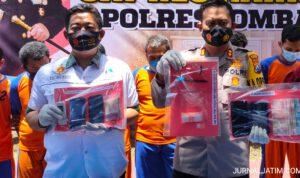 Polisi Bongkar Jaringan Narkoba di Jombang, 8 Orang Diringkus