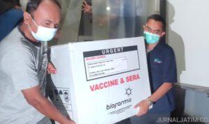 32 Puskesmas dan 11 RS di Jombang Dijadwalkan Vaksinasi Serentak