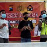 Pengedar Pil Koplo Lintingan Kertas Rokok Ditangkap Polisi di Jombang
