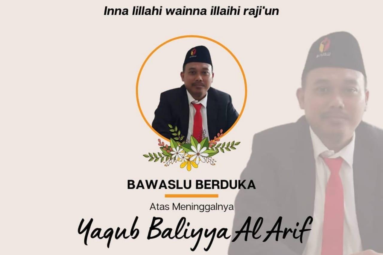 Komisioner Bawaslu Surabaya Yaqub Baliyya Meninggal Karena COVID-19