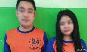 Pasangan Kekasih Jadi Perantara Kelompok Pengedar Sabu di Jombang
