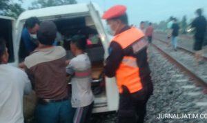 Berangkat Jual Kerupuk, Pria Jombang Tewas Tertabrak Kereta Turangga