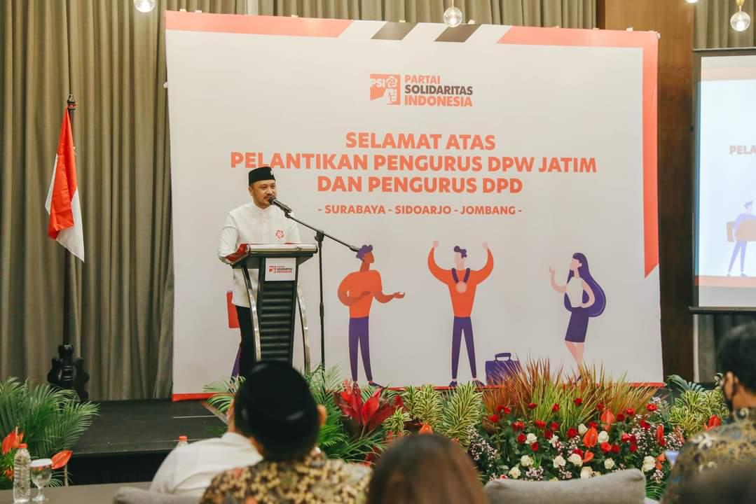 Resmi Dilantik, PSI Jombang Siap Munculkan Alternatif Pemimpin Baru